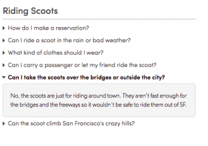 scoot faq